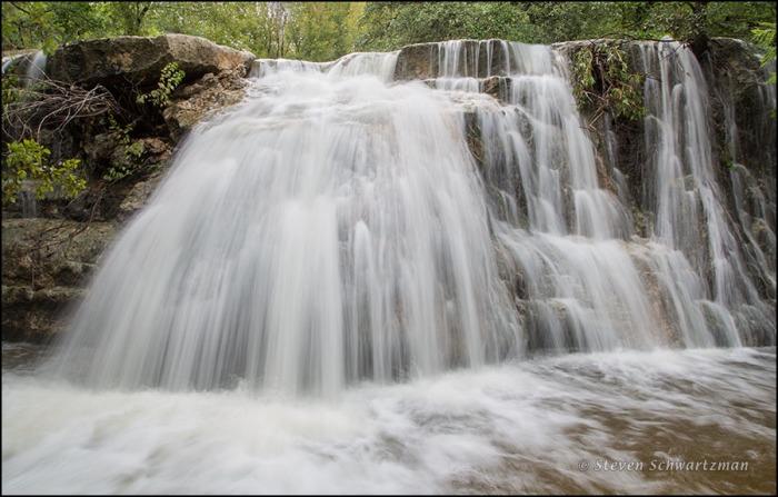 Large Waterfall in Bull Creek Tributary 9996