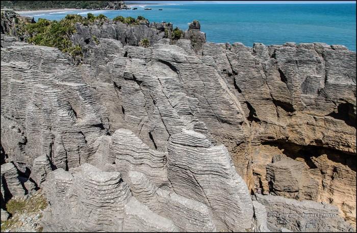 Punakaiki Pancake Rocks 5097