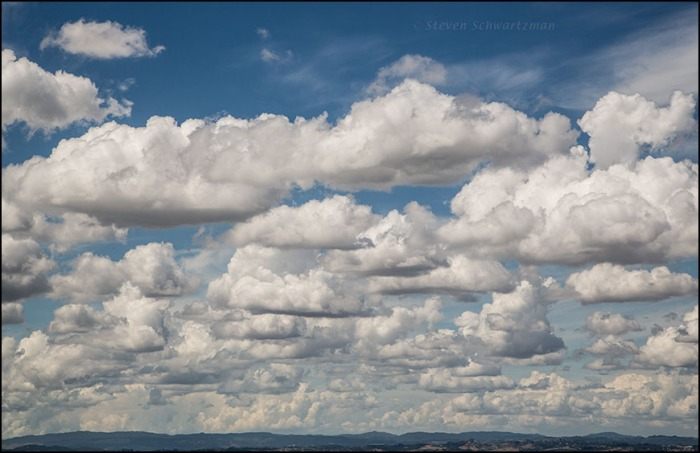 Clouds Seen from One Tree Hill 8186