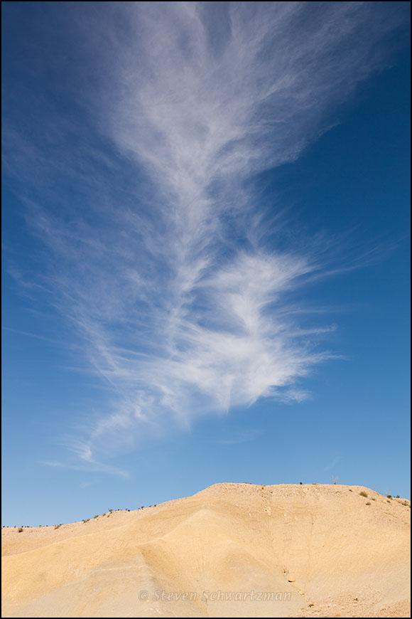 Fleecy Clouds Over Big Bend Desert 9812