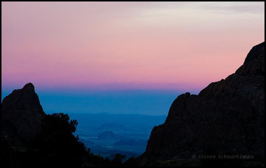 Chisos Basin Dawn 0260