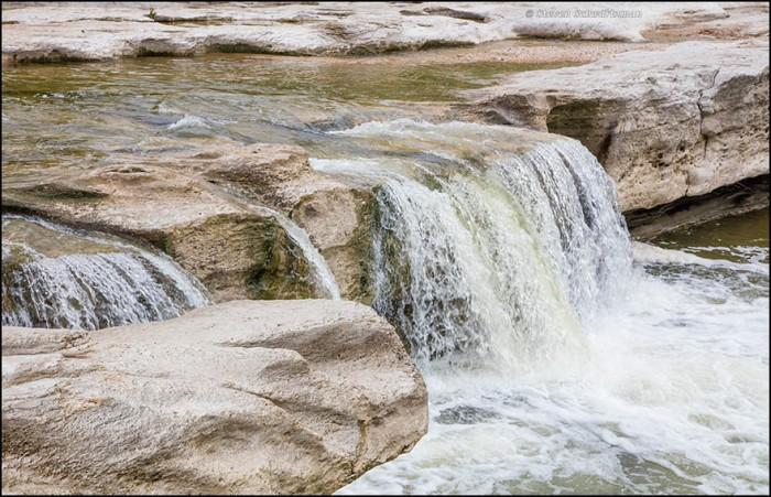 McKinney Falls Lower Falls 1220