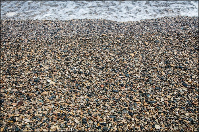 Pebbles at Illinois Beach State Park 8075